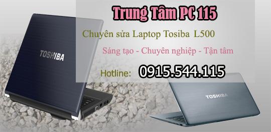 sua chua laptop tosiba l500