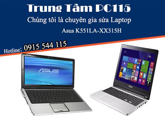 sua laptop asus k551la