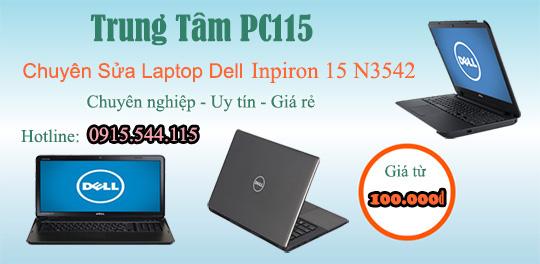 Sửa laptop Dell Inpiron 15 N3542