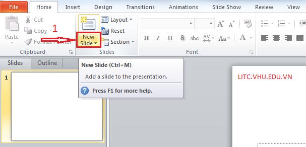 Hướng dẫn tạo trình chiếu powerpoint từ văn bản word có sẵn