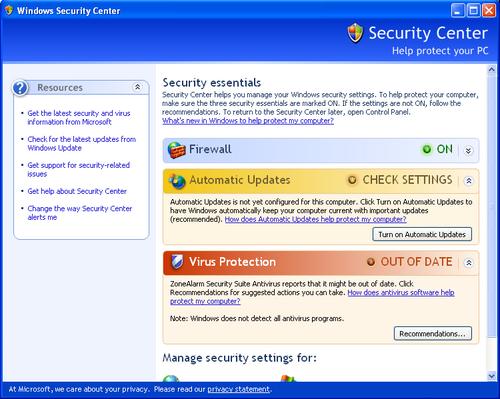 Cách tắt biểu tượng Windows Security Alerts