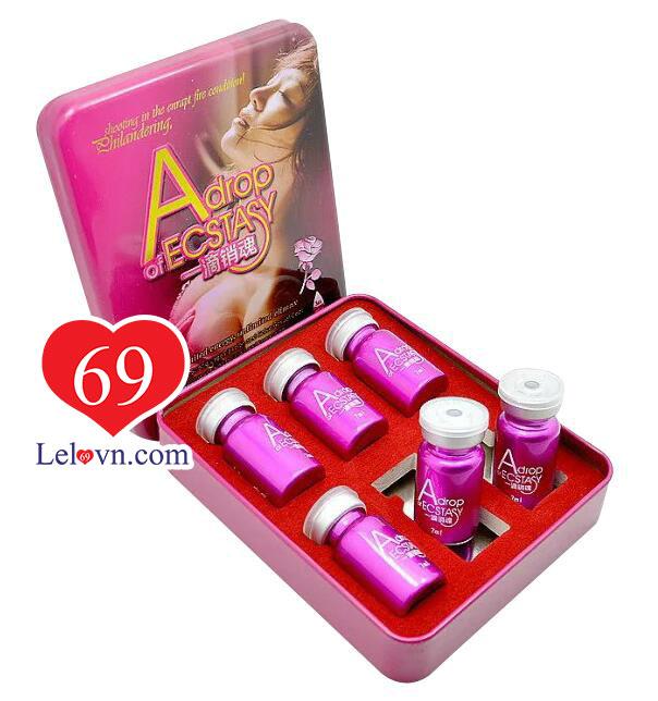 Một hộp lớn Thuốc kích dục Adrop Of Ecstasy có 6 lọ nhỏ