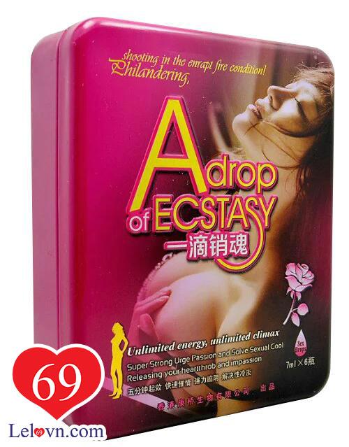 Hộp bao bì thuốc kích dục Adrop Of Ecstasy