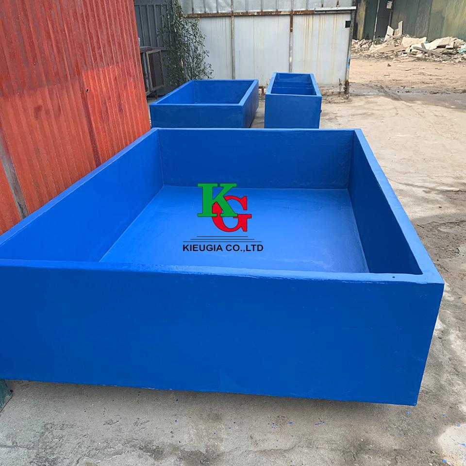 Bể composite chứa hải sản