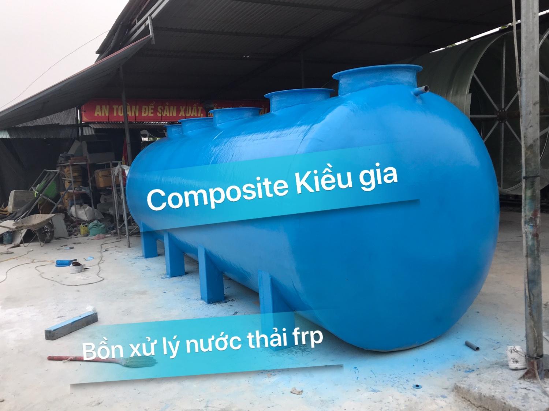 Sản xuất bồn xử lý nước thải frp tại Hà Nội