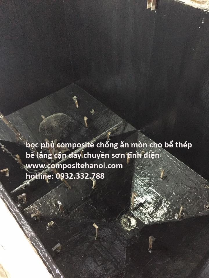 bọc phủ composite chống ăn mòn chuyên nghiệp