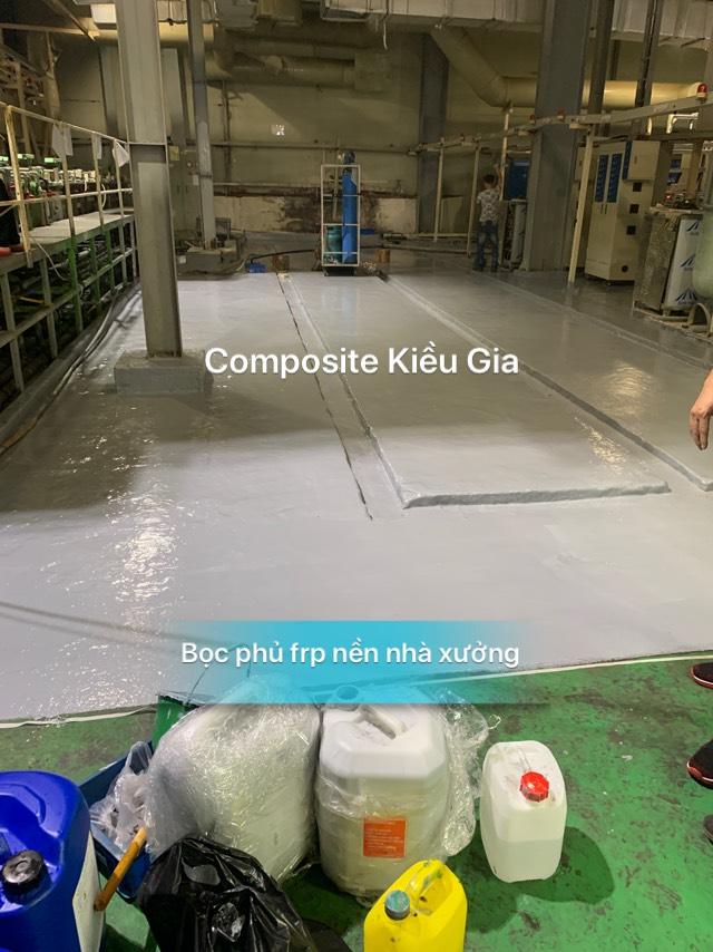 chất lượng bọc phủ composite frp