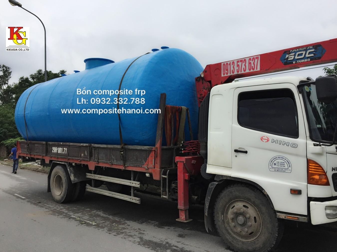 Nhật ký ctrinh sản xuất tank frp