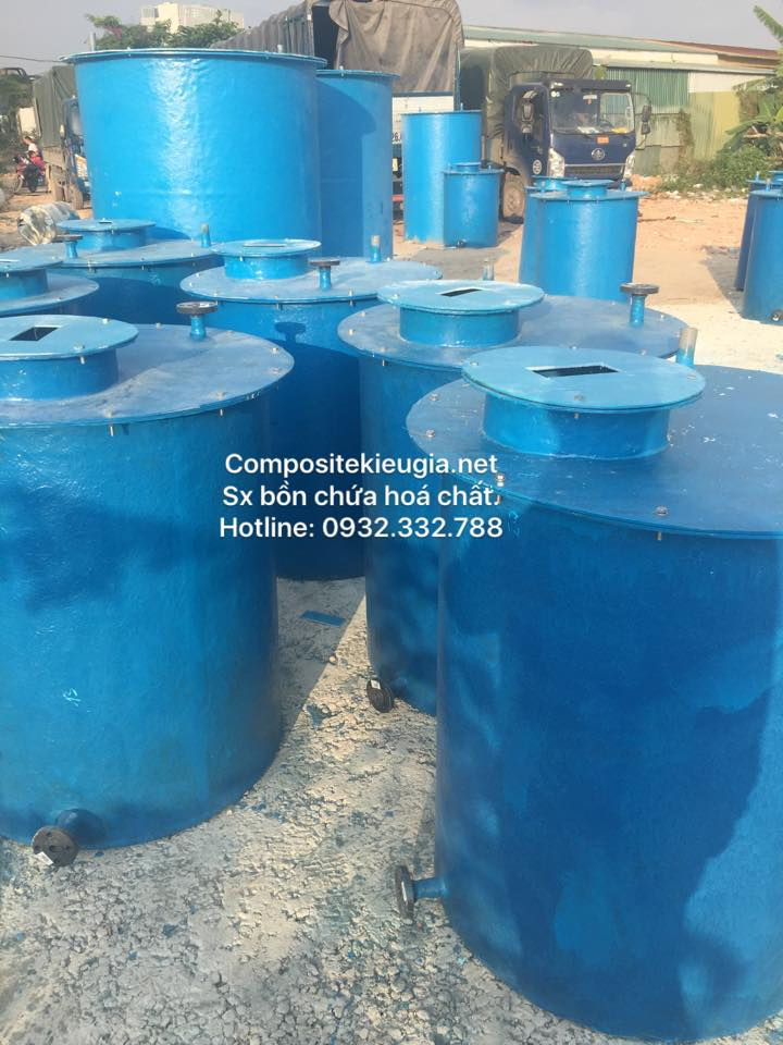 sản xuất bồn composite frp