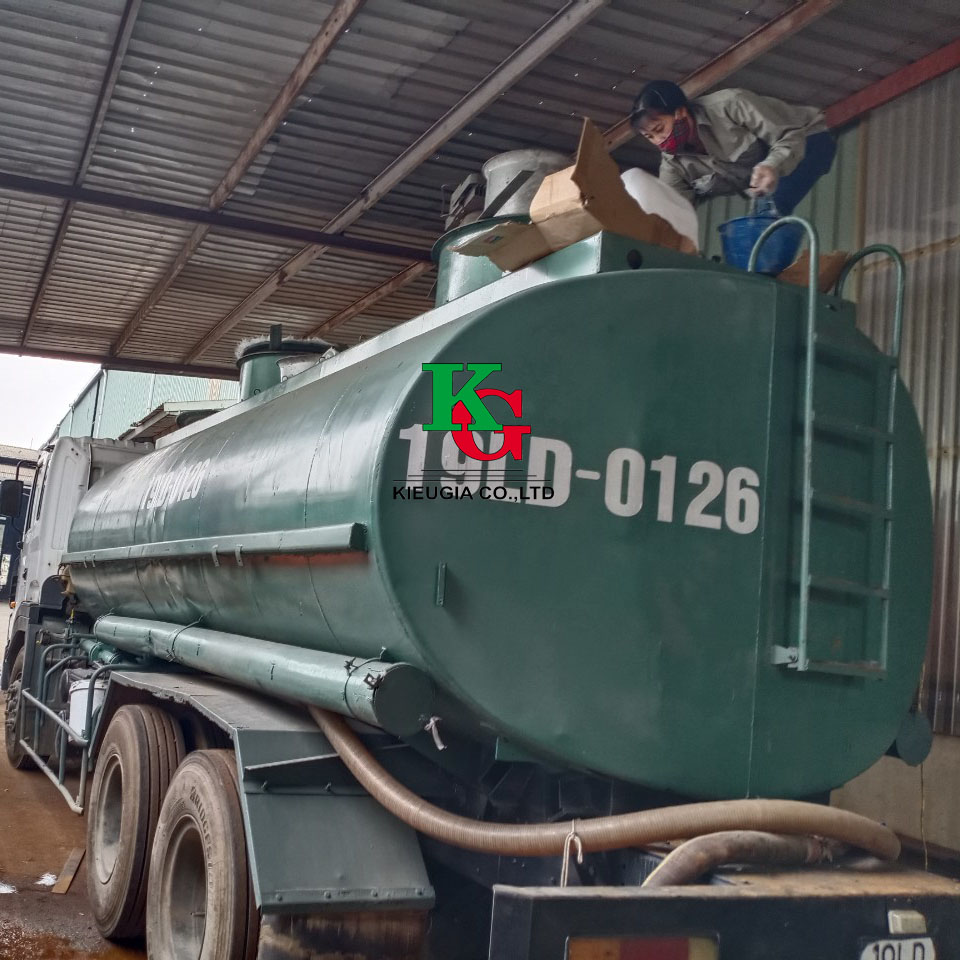 Bọc phủ FRP cho téc chứa hóa chất tại Hà Nội