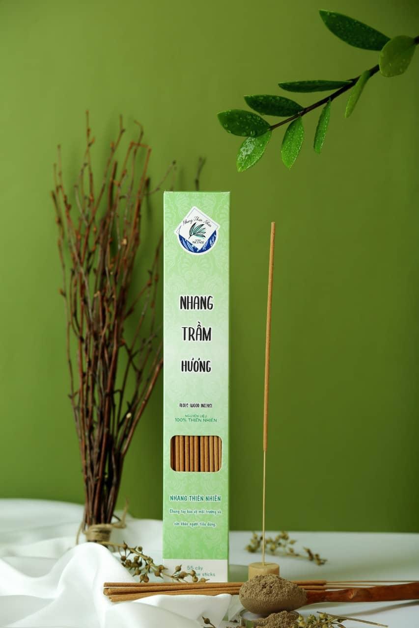 Nhang Sạch thiên nhiên mùi thơm lâu khói không độc bảo vệ sức khỏe gia đình