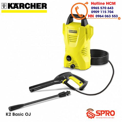 Giới thiệu máy rửa xe gia đình Karcher