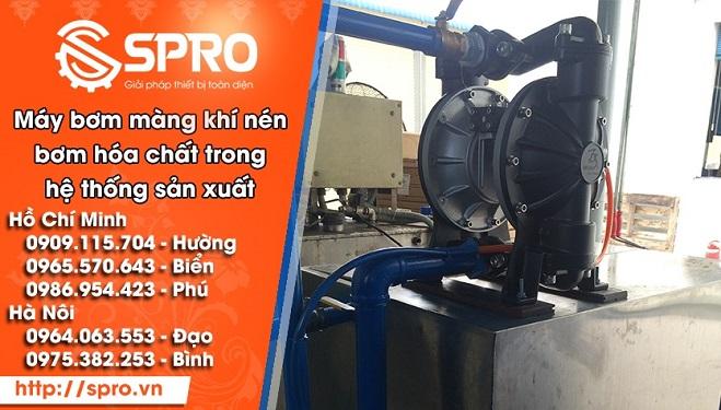 Cung cấp máy bơm màng mực in trong hệ thống sản xuất bao bì
