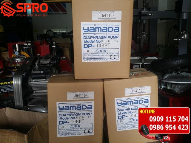 Spro - Máy bơm màng khí nén yamada giá rẻ tại Hà Nội