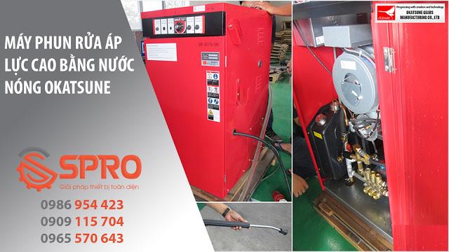 Spro - Những ứng dụng của máy phun rửa nước nóng áp lực cao