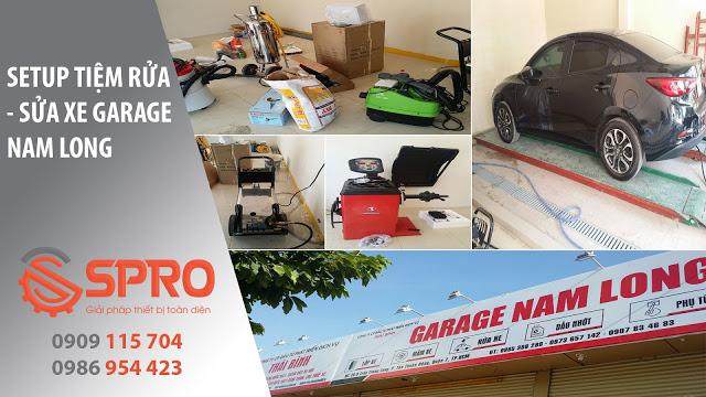 Thiết bị rửa xe ô tô chuyên nghiệp với nhiều ưu đãi cùng SPRO