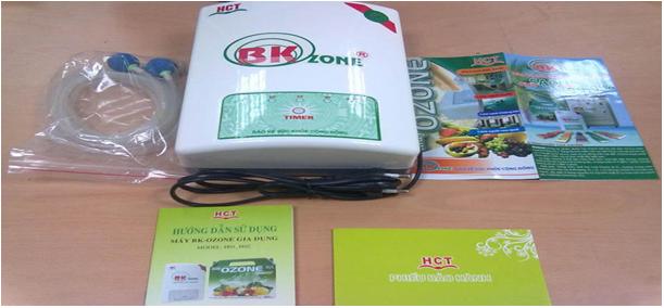 Máy ozone H01 khử độc thực phẩm