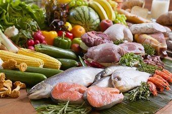 Phân loại thực phẩm trước khi sục với ozone