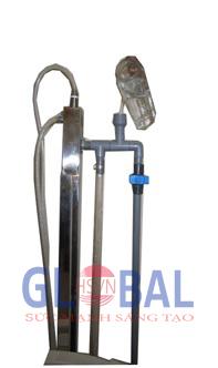 Bộ van an toàn sử dụng trong hệ thống máy ozone công nghiệp