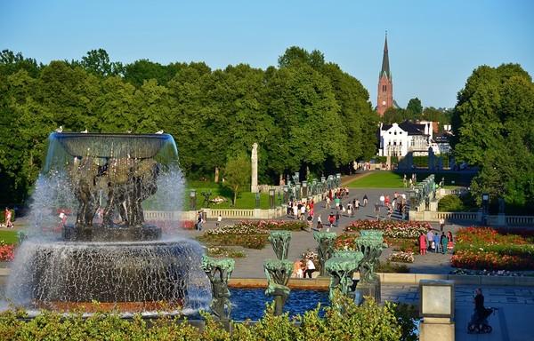Thành phố xanh Oslo, Nauy
