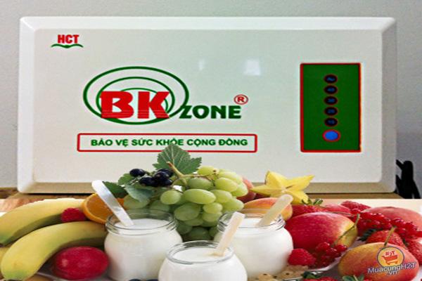 Máy ozone bách khoa bảo vệ hoa quả tự nhiên