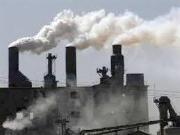 Khí thải công nghiệp đang gây ô nhiễm môi trường