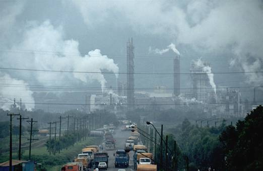 Ô nhiễm không khí diễn ra từng ngày