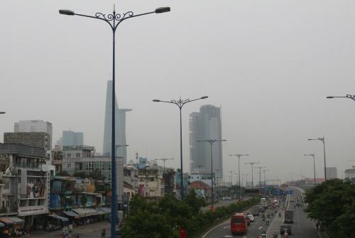 Hiện tượng mù khô tại Sài Gòn do ảnh hưởng cháy rừng Indonesia