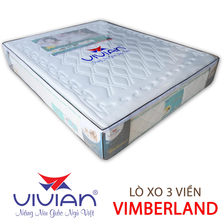Nệm lò xo liên kết 3 viền Vimberland Vivian ngủ ngon