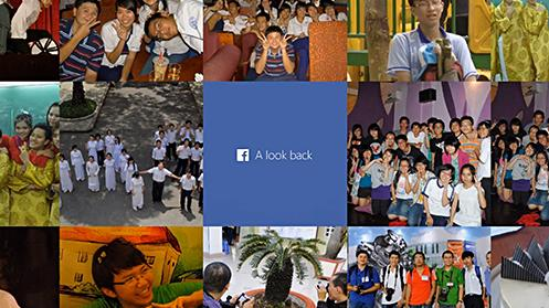 faceb look back