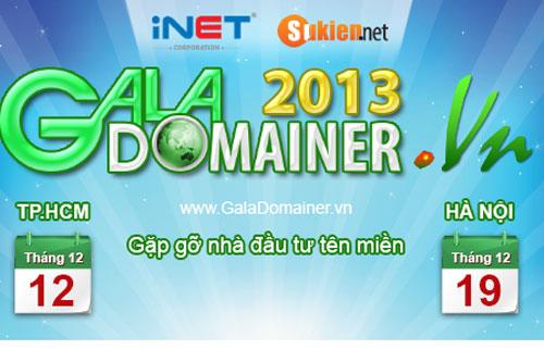 Lần đầu tiên có Gala Domainer cho nhà đầu tư tên miền