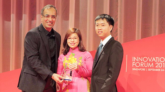 Viettel được nhận giải thưởng quốc tế tại Singapore