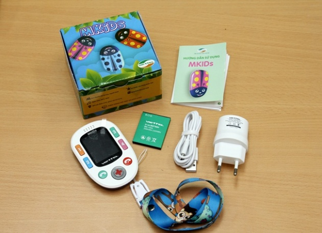 Viettel Mkids: Chiếc điện thoại dành cho trẻ em