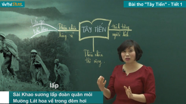 Cơn sốt học Văn trên ViettelStudy cho sĩ tử khối tự nhiên