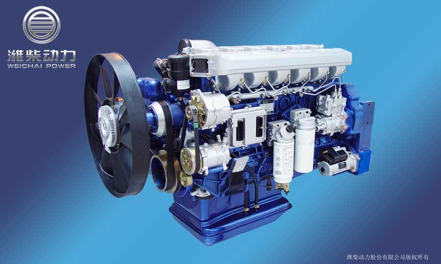 Động cơ Weichai Landking WP series Euro III,IV