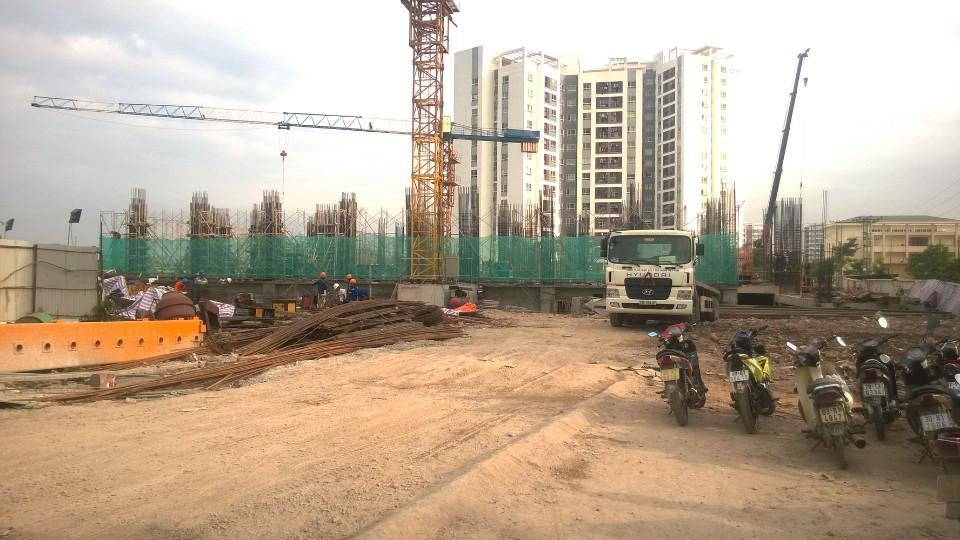 hình ảnh thực tế chung cư Tứ Hiệp Plaza