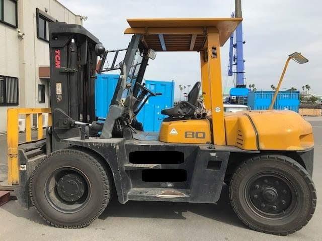 Xe nâng cũ 8 tấn TCM FD80Z8