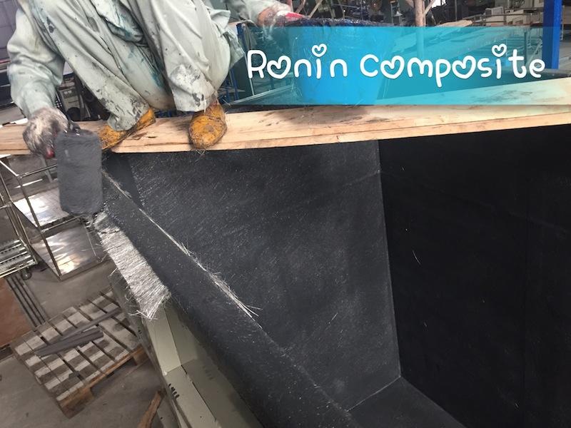 Bọc phủ composite bể sơn tĩnh điện