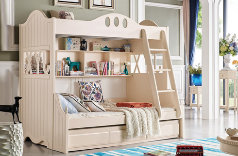 Mẹo nhỏ giúp Mẹ cách chọn giường tầng nhập khẩu cho bé đúng nhất