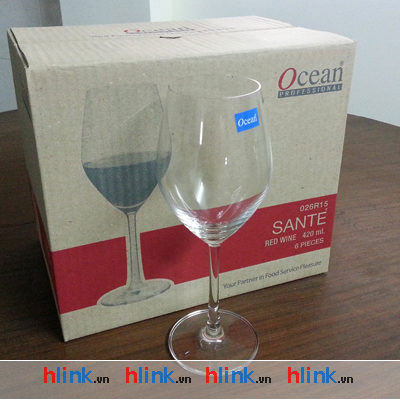 Bộ 6 Ly Thủy Tinh Santé Red Wine - 1026R15 - 420ml