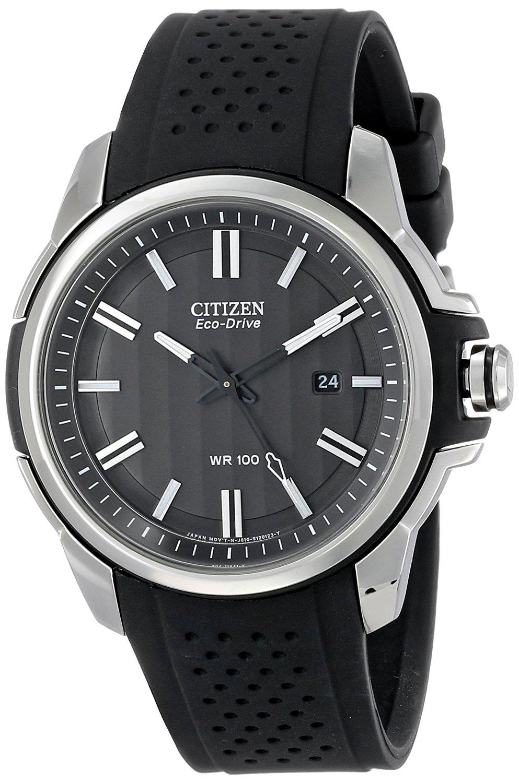 Citizen nam AW1150-07E dây da