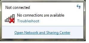 Khắc phục lỗi không nhận wifi trên máy tính