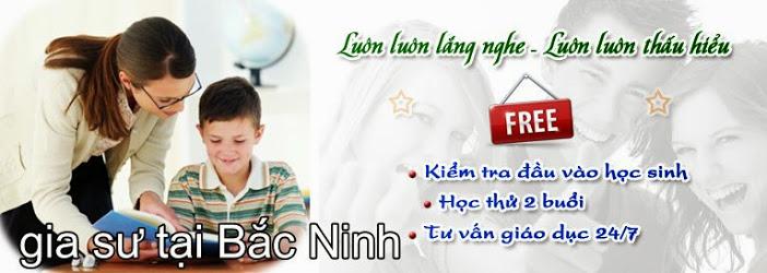 gia sư tại Bắc Ninh