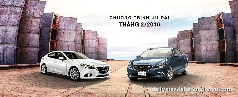 Đón xuân năm mới - Mazda ưu đãi giá bán lên tới 65 triệu đồng