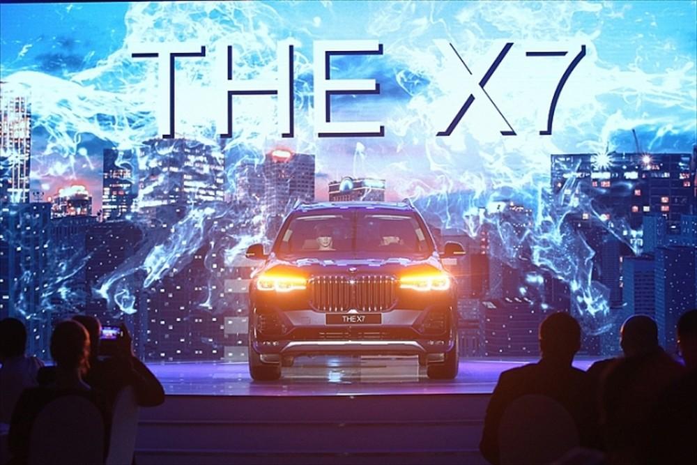 Thaco BMW Long Biên chính thức giới thiệu BMW X7 ra thị trường