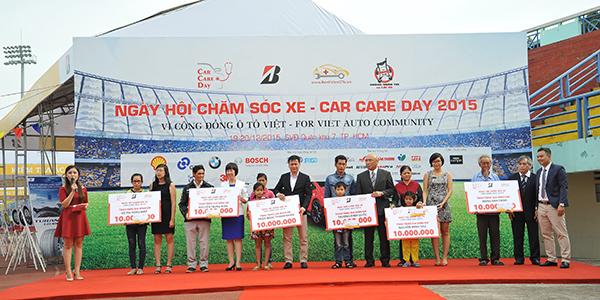 """BMW tiếp tục đồng hành cùng """"Ngày hội chăm sóc xe - Car Care Day 2015"""" tại Tp. Hồ Chí Minh."""