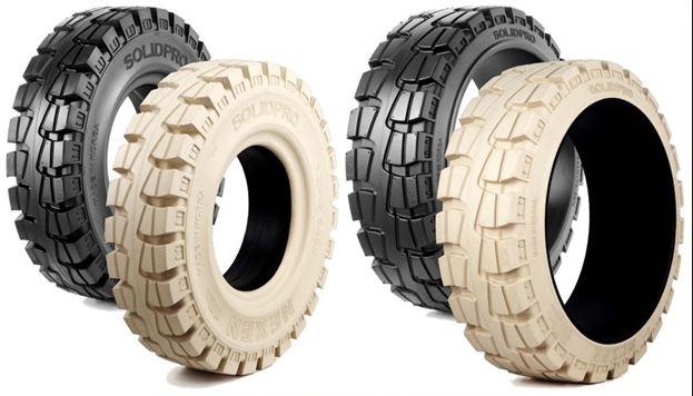 Lốp đặc xe nâng hàng với tính năng hoạt động tốt hiệu quả an toàn cao