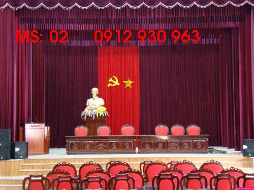 Phông sân khấu -Hội trường