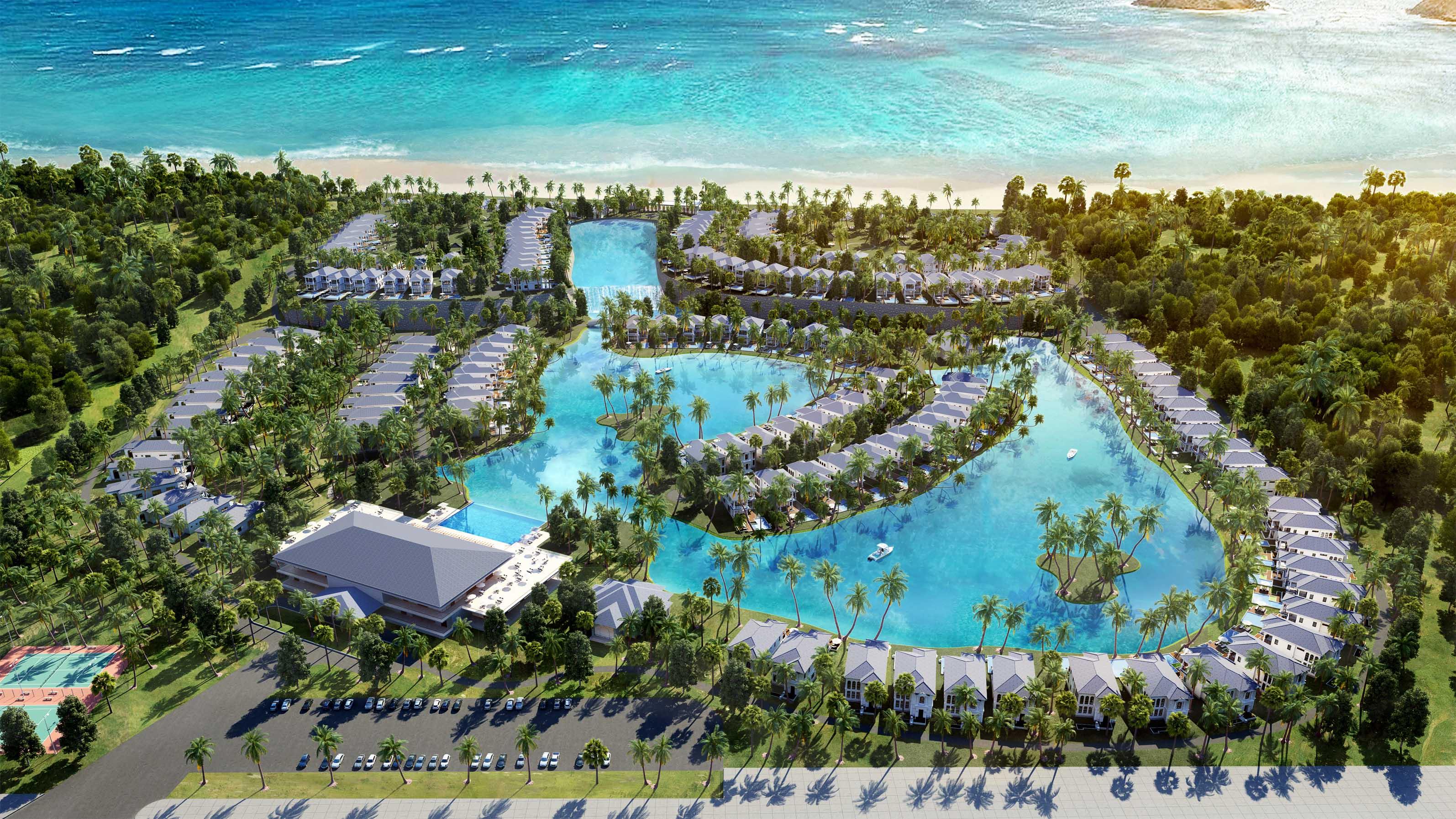 Mặt bằng dự án Vinpearl Bãi Dài Cam Ranh - Khánh Hòa