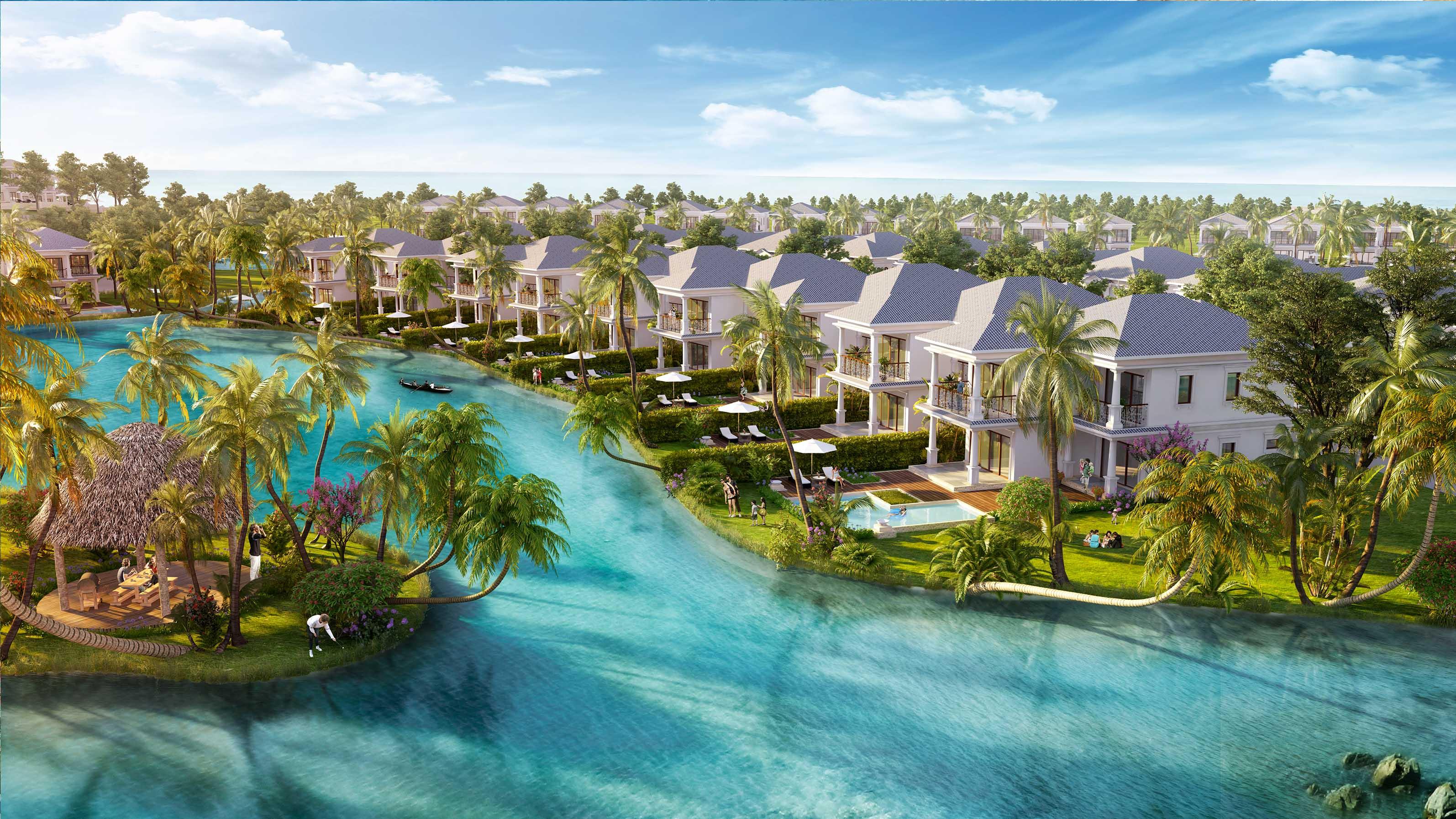 Hình ảnh phối cảnh 3D của dự án Vinpearl Bãi Dài - Cam Ranh